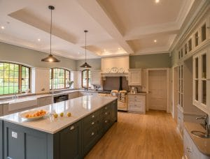 Bespoke kitchen in a private house